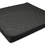 "Foam Wheelchair Cushion Black 18""W x 16""D x 4"""