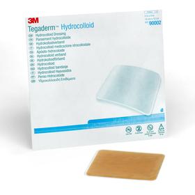 Tegasorb Hydrocolloid Dressing Sq. 10cm X 10cm Bx 5