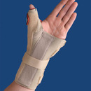 Carpal Tunnel Brace W/Thumb Spica Right Beige Medium