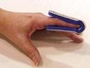 Fold Over Finger Splint Large Bulk  PK/6 Non-Retail