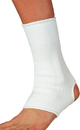 Complete Medical Supplies Elastic Ankle Support, White Large, 10