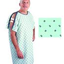 Patient I.V. Gown Geometric Print