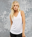 Bella 8805 3.7Oz Flowy V-Neck Tank
