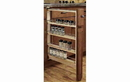 Rev-A-Shelf 432-BFBBSC-3C Filler Pullout Organizer with Ball Bearing Soft-Close Sink & Base Accessories, 3