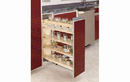"Rev-A-Shelf 448-BC-6C 6.5"" Base Organizer With Adjustable Shelves For 9"" Frameless Full Height Base Cabinet"