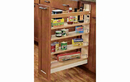 Rev-A-Shelf 448-BCBBSC-8C Base Cabinet Pullout Organizer with Ball-Bearing Soft-Close Sink & Base Accessories, 8