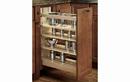 Rev-A-Shelf 448-BCSC-11C Base Cabinet Pullout Organizer with Blumotion Soft-Close Sink & Base Accessories, 11-1/2