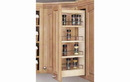 Rev-A-Shelf 448-HP-523C Cabinet Pullout Hood Organizer with Wood Adjustable Shelves Wall Accessories, 5