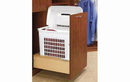 Rev-A-Shelf 4WH-RM-15DM-1 Bottom Mount Pull-Out Hamper With Rev-A-Motion Slides