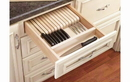 Rev-A-Shelf 4WKB-1 Maple Knife Block W/ Divider