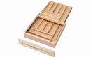 Rev-A-Shelf 4WTCD-24-1 Base 24 Double Tiered Cutlery Drawer