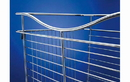 Rev-A-Shelf CB-182007CR-3 Wire Basket 20 Deep Pullout for Closet, 18
