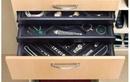 Rev-A-Shelf CJD-2414 Drawer Accessories Pullout Jewelry Drawer for Closet, 23-7/8