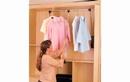 Rev-A-Shelf CPDR-2635 Pull-Down Closet Rod for Closet, 35