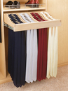 Rev-A-Shelf CWTR-2414-1 Tie Organizer Wood Pullout for Closet, 24