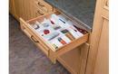 Rev-A-Shelf UT-12W-52 Cut-To-Size Insert Utensil Organizer for Drawers, Utility Tray