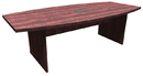 Office Source PL236 Boat Shaped Conference Table w/Slab Base, 95