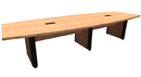 Office Source PLELP238 Boat Shaped Conference Table/Elliptical Base, 144