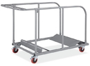 Office Source RA106AGRY Gry Table Truck For Round Folding Table
