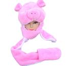 TopTie Winter Animal Hat, Mitten Earmuff Soft Warm Scarf And Gloves, Faux Fur