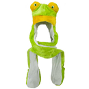 TopTie Party Hats, Animal Costumes Hats - Frog, Faux Fur