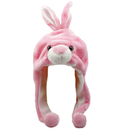TopTie Bunny Ladies Kids Teens Animal Hat, Soft Fleece Lined Snood