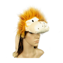 TopTie Full Animal Hoodie Faux Fur Girls Hat - Lion