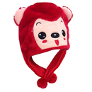TopTie Hot Animal Hats, Super Soft Material - Red Fox, Monkey