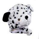 TopTie Winter Animal Hat, Earmuff Soft Warm Hat - Dalmatian Dog Black Hat
