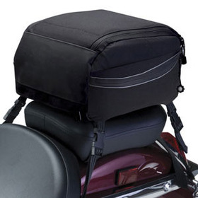 Classic Accessories 73727 Motorcycle Tail Bag - Black