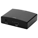 Cmple 117-N VGA & R/L Stereo Audio to HDMI Converter with DC Adapter