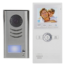 Cmple 1359-N Video Intercom Entry System 1 Apartment Audio,Video Kit with 1 Inside Monitors