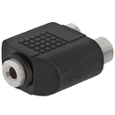 Cmple 239-N 3.5mm Stereo Jack to 2xRCA Jack Adapter