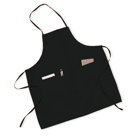 Cobra Caps AP-L Chest Full Apron With 3 Pouches-Long, Promotional Grade, Price/Piece