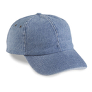 Cobra Caps PDC-R 6 Pnl Washed Denim Relaxed, Sky/Sky