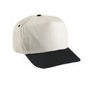 Cobra Caps TSG-N 5 Pnl Nat. Crown/Color Visor