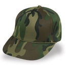 Cameo sports CS-81W Green Camo Winter Foam Cap, Plastic Snap Back