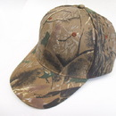 Cameo sports 6 Panel Structured Small Leaf Camo Cap, Velcro Closure