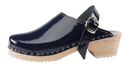 Cape Clogs 1321006 Patent Leather/Children/Toddler, Navy Patent