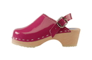 Cape Clogs 1321016 Adult Patent Leather Colors, Hot Pink