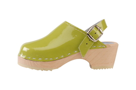Cape Clogs 1321022 Mini Pica Pica Children's, Lime Green