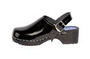 Cape Clogs 1321202 Adult Patent Leather Colors, Black Patent