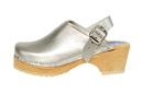 Cape Clogs 1321342 Solid Plain, Silver