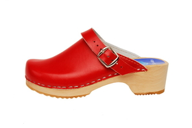 Cape Clogs 1322005 Solid Plain, Holiday Red