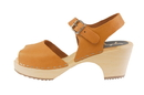 Cape Clogs 57114309 Pica Pica High Heels, Tan Sundial