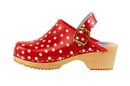 Cape Clogs 900333 Children/Toddler, Red Polka