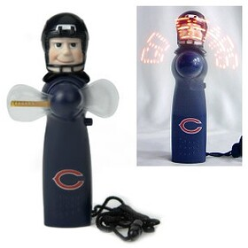 Chicago Bears Light Up Personal Handheld Fan