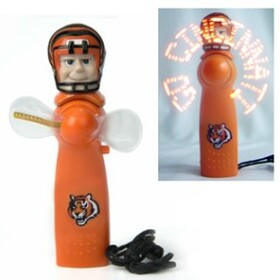 Cincinnati Bengals Light Up Personal Handheld Fan