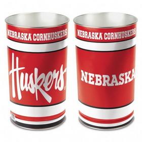"Nebraska Huskers 15"" Waste Basket"