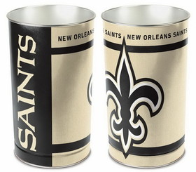 "New Orleans Saints 15"" Waste Basket"